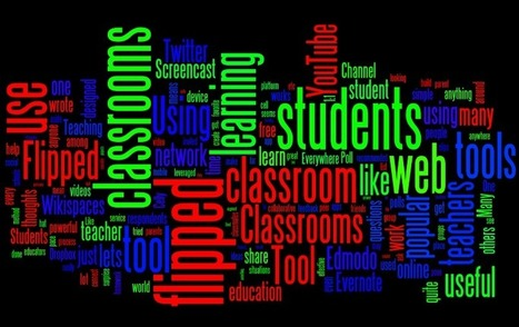 The 10 Best Web Tools For Flipped Classrooms - Edudemic | Digital Tools and Education | Scoop.it