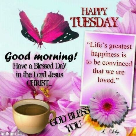 Good Morning Tuesday Picture Messages
