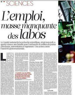 Emploi scientifique: assemblée à Paris-5 Descartes | Enseignement Supérieur et Recherche en France | Scoop.it