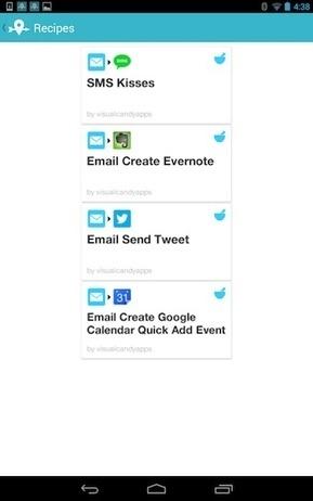Rencontrez LIFTTT, l'app qui vous permet de faire n'importe quoi, n'importe où | Lectures web | Scoop.it