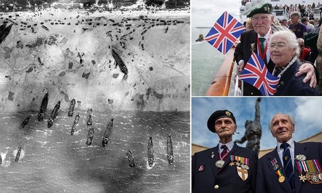 Chaos of D-Day revealed in images from RAF reconnaissance planes | British Genealogy | Scoop.it