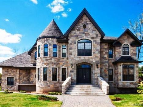 Custom-Built Home | 21191 Rue Euclide-Lavigne, Sainte-Anne-de-Bellevue, QC | Luxury Real Estate Canada | Scoop.it