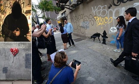 Banksy speaks! The famously private artist gives rare interview | Street art news | Scoop.it