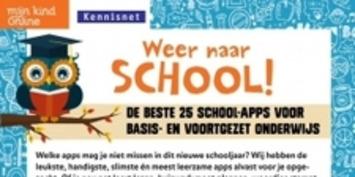 Weer naar school! De beste 25 school-apps | Mijn Kind Online | Apps voor kinderen | Scoop.it