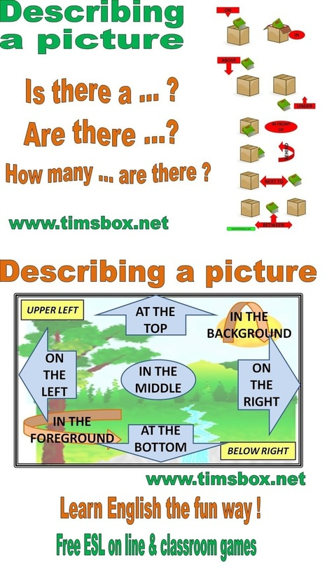 CLASSROOM GAMES- Blind 7 differences | Teaching English ESL - Ressources anglais -timsbox | Scoop.it