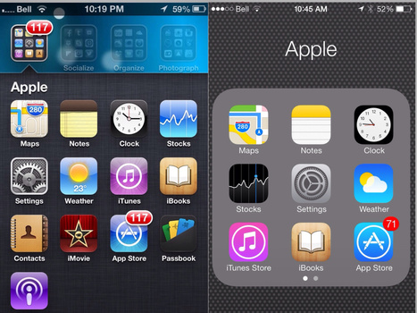 My First Impressions of iOS 7, Apple's New Operating System - Teaching with iPad | flamebelly | Scoop.it