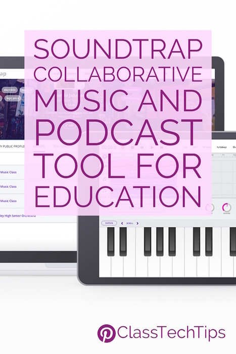 Soundtrap Collaborative Music and Podcast Tool for Education - Class Tech Tips | Pedagogy, Education, Technology | Scoop.it