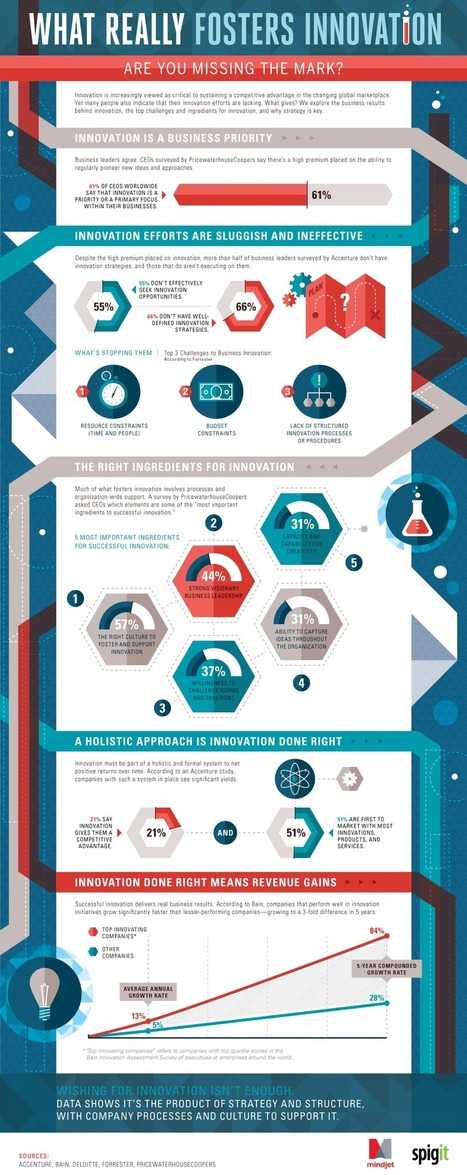 The Secret Recipe for Business Innovation [INFOGRAPHIC]   Social Media, Marketing and Promotion   Scoop.it