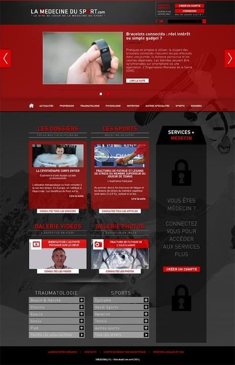 Menarini lance un site web dédié à la médecine du sport | Better Safety | Scoop.it