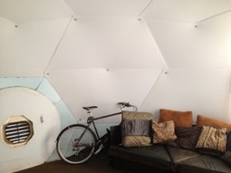 Tiny frameless geodesic home costs only$2100 | Ecological Construction | Scoop.it