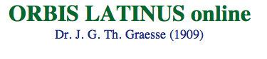 Graesse, Orbis Latinus | DICCCIONARIOS | Scoop.it