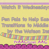 Watch It Wednesday:  Pen Pals to Help Ease Transition to Middle School by The Watson Institute | Communication and Autism | Scoop.it