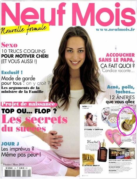 Neuf Mois Magazine - Fev 14   Beauty Push, bureau de presse   Scoop.it