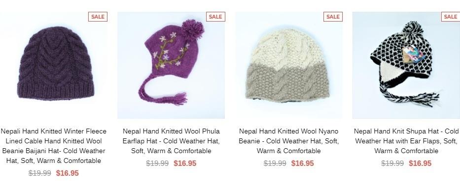 bb44953ea21 Shop fair trade wool hats online