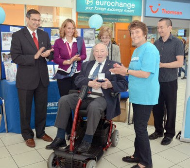 Medal for man with diabetes | Redditch Standard | diabetes and more | Scoop.it