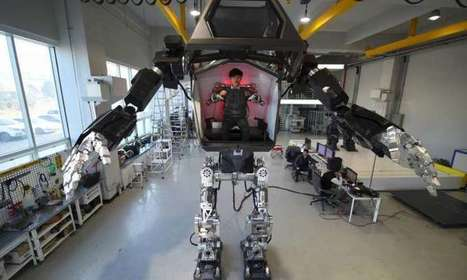 Avatar-style S. Korean manned Robot takes first Baby Steps | Writing about Life in the digital age | Scoop.it