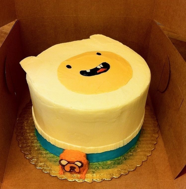 Cool Adventure Time Birthday Cake And Decoration Ide Funny Birthday Cards Online Alyptdamsfinfo