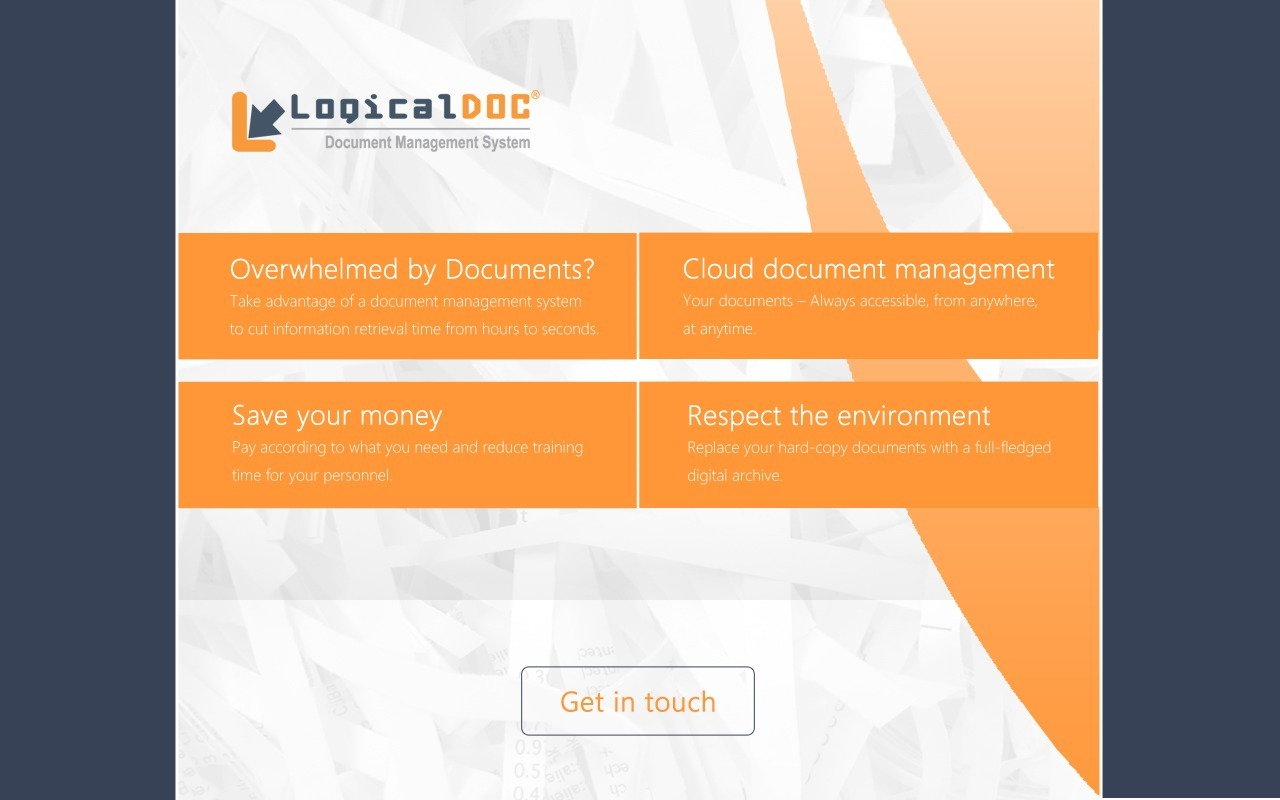 Logicaldoc Document Management System Dms Four Kids39 Websites About Electricity For Practice And Fun