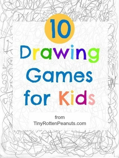 Drawing Games for Kids | Serious Play | Scoop.it