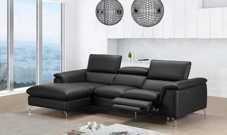 Power Reclining Sectional | Asiama Elizabeth Le...