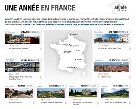 Une année en France - LeMonde.fr | Interactive & Immersive Journalism | Scoop.it