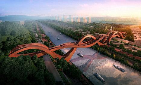NEXT architects win competition for meixi lake bridge | Social studies | Scoop.it