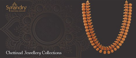 Chettinad Jewellery Collections Gold And Diam