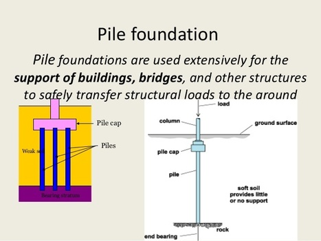 Pile Foundations' in Pile Foundations | Scoop it