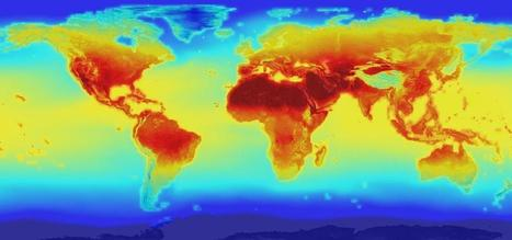 NASA's massive new dataset gives a daily weather report through 2100 | green infographics | Scoop.it
