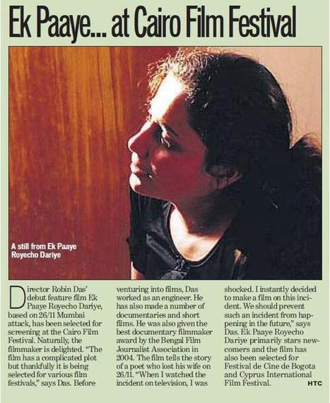 Robin Das,indie filmmaker   My 1st Feature Film is horrible   Scoop.it