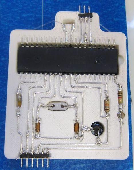RepRap printed circuits   3D Printing and Fabbing   Scoop.it