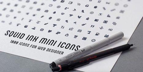 [Ressources] - 1000 mini icônes pour vos webdesigns | Des cliparts pour mes maps | Scoop.it