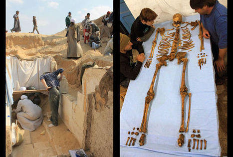 Ancient Egyptian Tomb Unearthed, Unknown Pharaoh Found - Science News - redOrbit | Ancient Origins of Science | Scoop.it