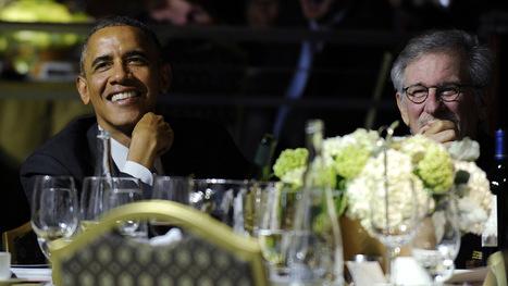President Obama Attends Steven Spielberg's Shoah Gala, Alan Horn Fundraiser - Hollywood Reporter | Bruce Springsteen | Scoop.it