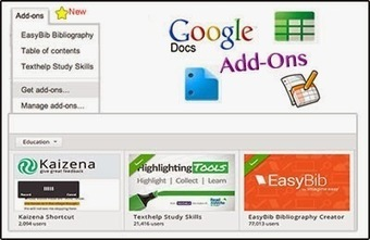 Cool Tools for 21st Century Learners: Google Docs Add Ons - A New Feature | Curation Education & Design | Scoop.it