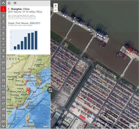Interactive: The 50 Largest Ports in the World | Map@Print | Scoop.it
