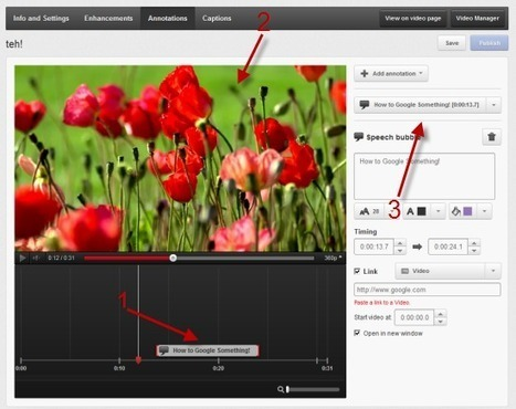 Getting Started with Annotations - YouTube Help | Google Apps in K12 Education | Scoop.it