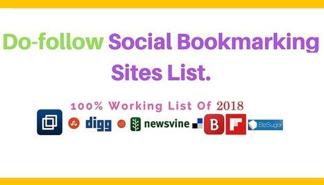 Top 1000 Do Follow Social Bookmarking Sites Lis
