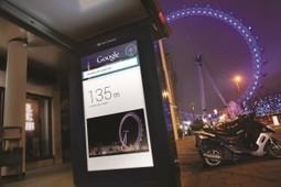 """Le projet """"Google Outside"""" prend vie et place dans les rues de Londres.   toute l'info sur Facebook   Scoop.it"""