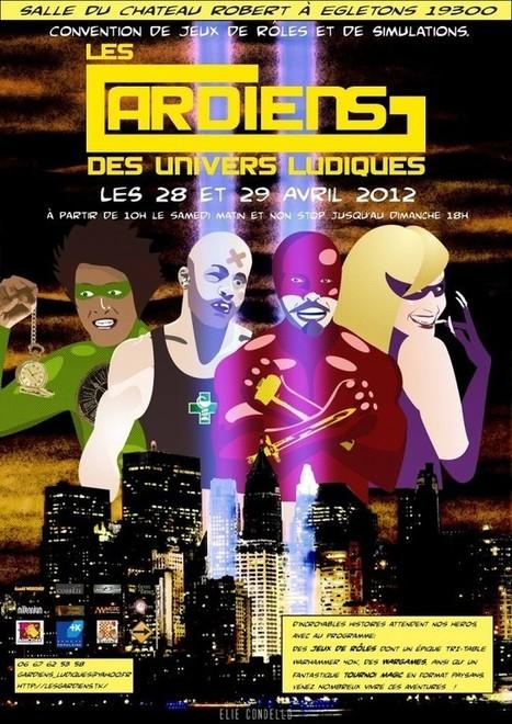 [Convention JdR] Les Gardiens des Univers Ludiques | JdR Francophone | Scoop.it