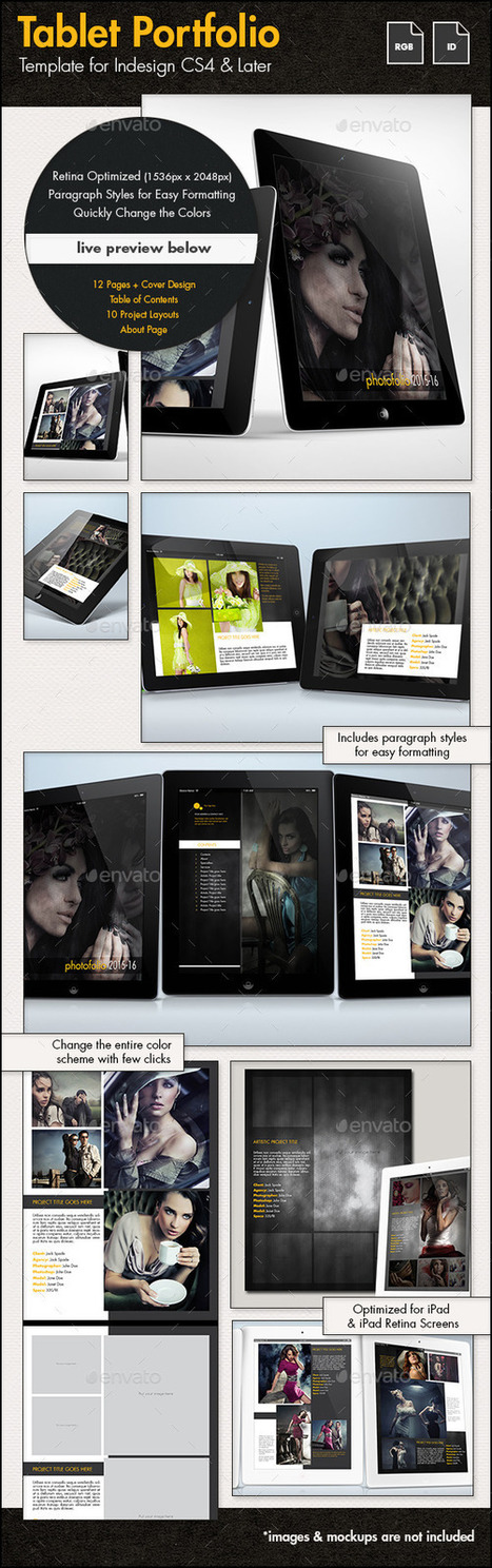 Creative Portfolio for Tablets | About Art & Creativity | Scoop.it