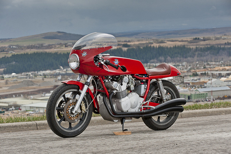 1975 MV Agusta | TractionLife.com | Vintage, Classic & Custom Motorbikes | Scoop.it