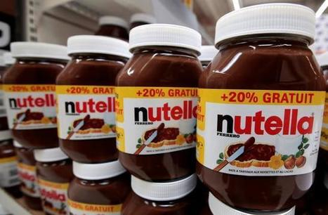 "Nutella maker fights back on palm oil after cancer risk study (""would nutella make the shift?"") 