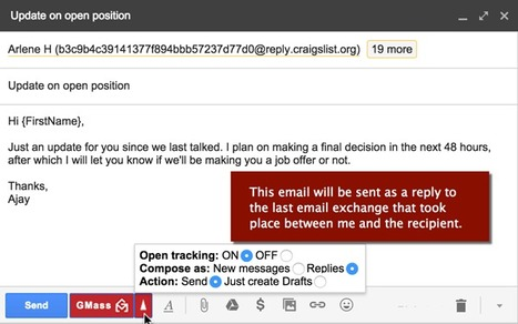GMass - Gmail mail merge, mass email, and follow up email service | Time to Learn | Scoop.it