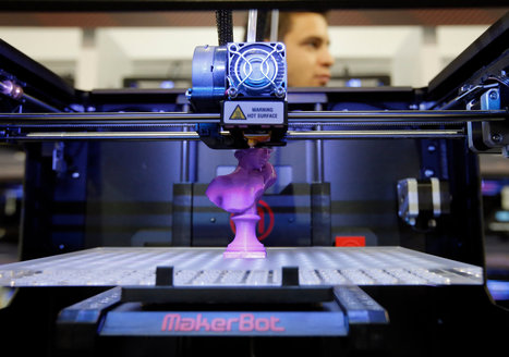 Disruptions: On the Fast Track to Routine 3-D Printing | Geekery Cyclone | Scoop.it