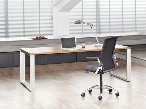 Schreibtisch Kufengestell Penso M Petnkx18100 K