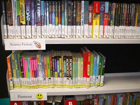 Arranging library fiction by genre | Services to Schools | School Library Spaces | Scoop.it
