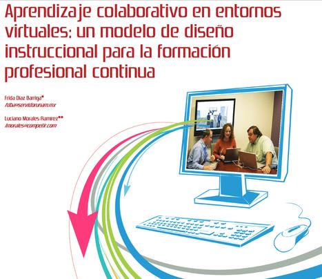 Aprendizaje colaborativo en entornos virtuales: un modelo de diseño instruccional para la formación profesional continua | Investigación en educación matemática | Scoop.it