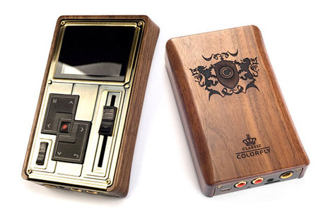 Steampunk Styled Colorfly Pocket HiFi C4 Pro Media Player | All Geeks | Scoop.it