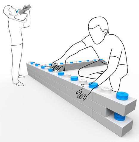 UNICEF Brick – Modular Water and Food Storage Bricks by Psychic Factory » Yanko Design | Urban Design | Scoop.it
